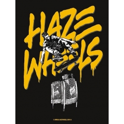 Haze Wheels bressol sticker